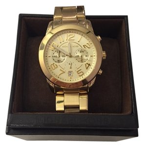 Michael Kors Large Gold Michael Kors Watch