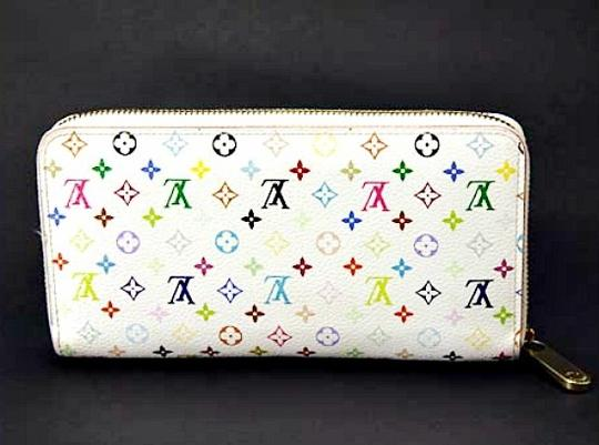 Louis Vuitton Authentic Louis Vuitton Monogram Multicolore Litchi Zippy Wallet
