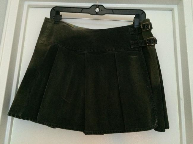 Gap Skirt Grey with Strategic Fading In Certain Spots