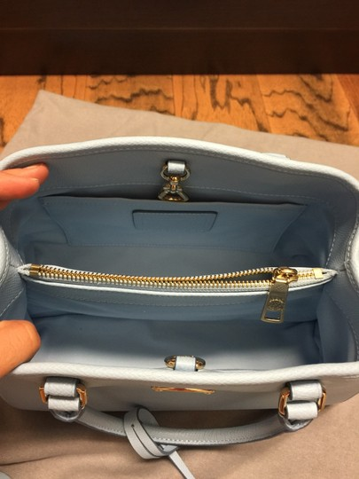 Coach Tote in Baby Blue