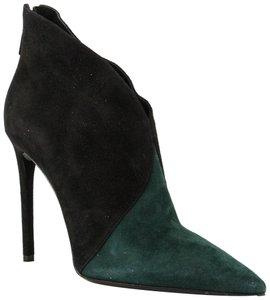 Prada Black and Green Boots