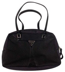 Guess Nylon Satchel in black