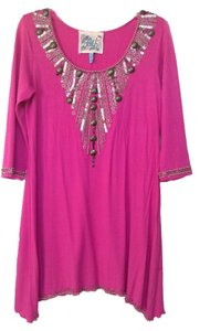 Faith Top Hot pink