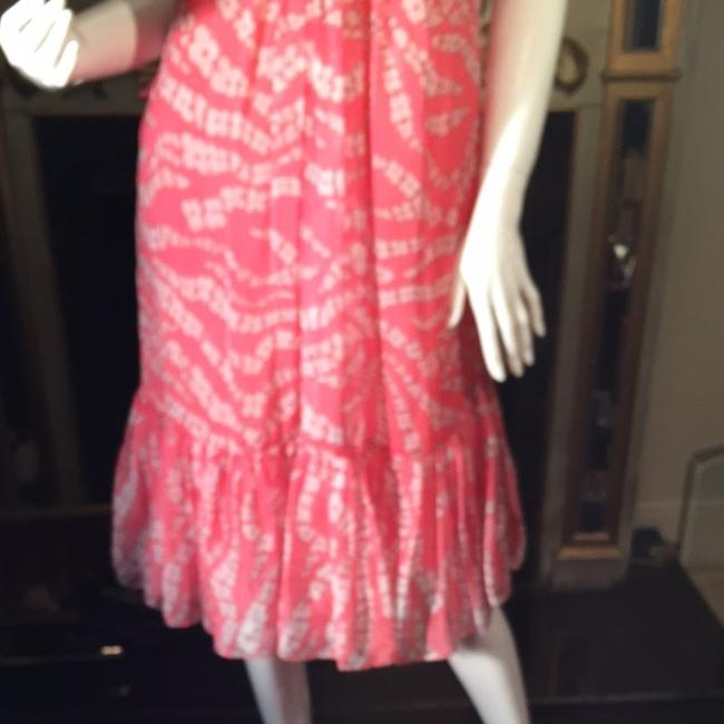 Pink And White Maxi Dress by Abilly in new york