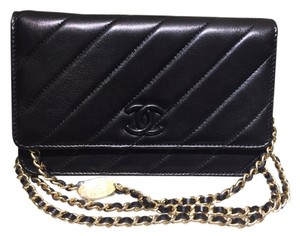 Chanel Woc Vintage Lambskin Cross Body Bag