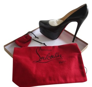 Christian Louboutin Black Daffodile Pumps