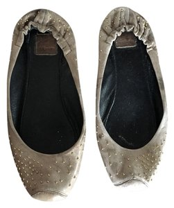 Dolce Vita Light Brown Studded Flats