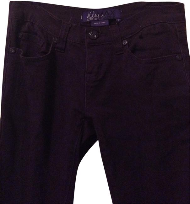 Preload https://item1.tradesy.com/images/miley-cyrus-and-max-azria-purple-dark-rinse-skinny-jeans-size-25-2-xs-398895-0-1.jpg?width=400&height=650