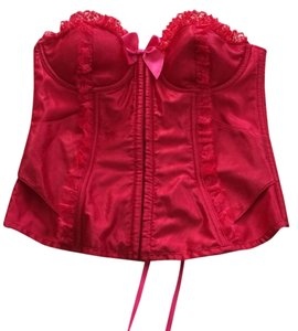 Other NWT-VS satin lace up corset 36C