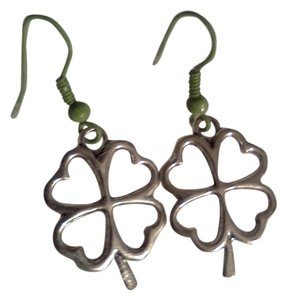Other New never worn shamrock earrings