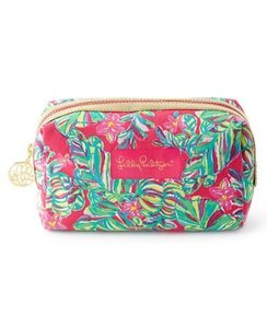 Lilly Pulitzer Lilly Pulitzer Palm Beach Medium Printed Cosmetic Case