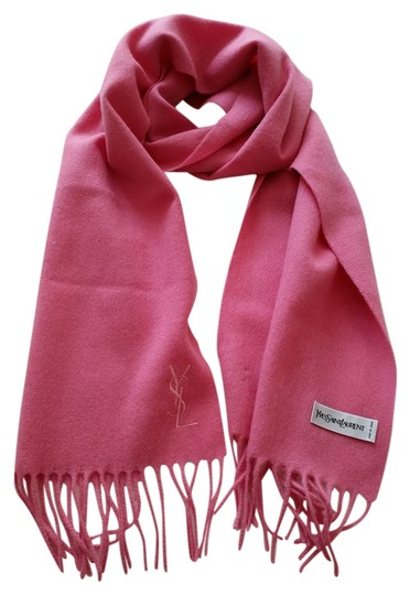 Saint Laurent YSL Wool Scarf