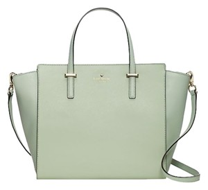 Kate Spade Satchel in mint mojito/gold