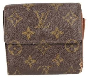 Louis Vuitton Monogram Double Sided Trifold Snap LVTL29