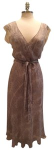 J.Crew Silk Elegant Keyhole Tie Waist Anthropologie Dress