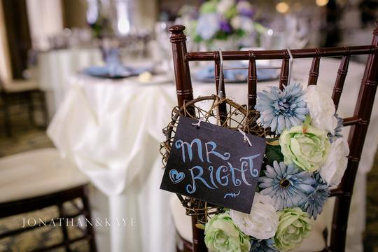Mr. Right/ Mrs. Always Right Chair Signs