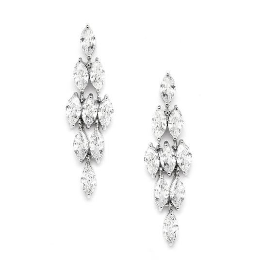 Preload https://item4.tradesy.com/images/mariell-silver-marquis-clusters-cubic-zirconia-drop-4145e-earrings-3991543-0-0.jpg?width=440&height=440