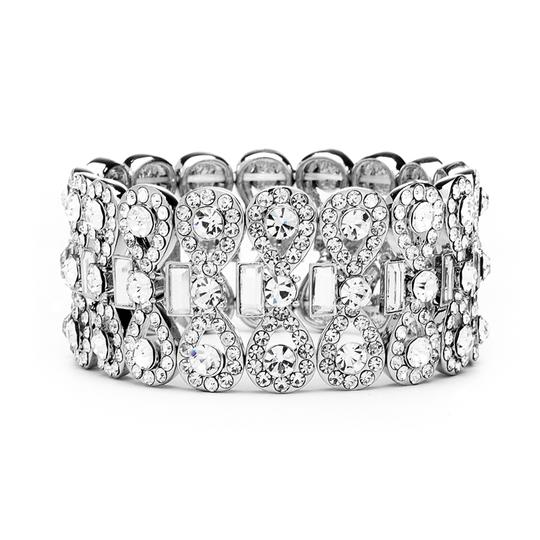 Preload https://img-static.tradesy.com/item/3991630/mariell-ravishing-bridal-stretch-bracelet-with-crystal-baguettes-4155b-3991630-0-0-540-540.jpg