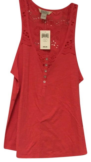 Lucky Brand Top Coral
