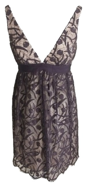 Preload https://item3.tradesy.com/images/milly-brown-lace-cocktail-dress-size-4-s-3991792-0-0.jpg?width=400&height=650
