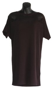 Graham & Spencer short dress black Eyelet Tunic Loose Fitting on Tradesy