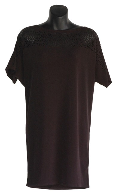 Preload https://item4.tradesy.com/images/graham-and-spencer-eyelet-tunic-loose-fitting-dress-black-3991903-0-0.jpg?width=400&height=650
