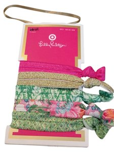 Lilly Pulitzer Lilly Pulitzer For Target Hair Elastics Pink SOLD OUT - NWT