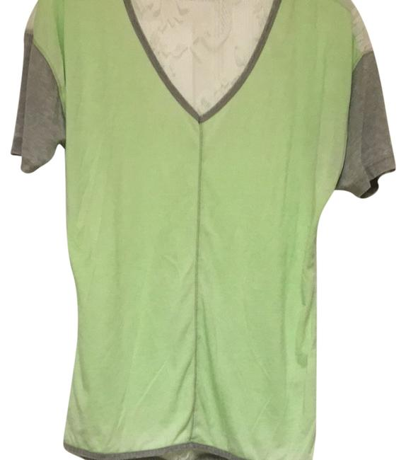 Preload https://item3.tradesy.com/images/bke-lime-green-with-gray-sleeves-tee-shirt-size-14-l-3992212-0-0.jpg?width=400&height=650