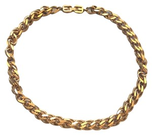 Givenchy Vintage Givenchy Gold Double Chain