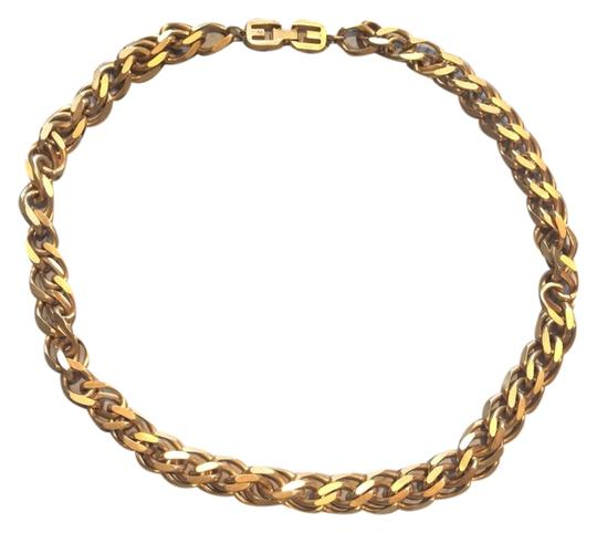 Givenchy Vintage Givenchy Gold Plated Double Chain