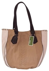 orYANY Tote in Nude / Saddle / Dk Brown