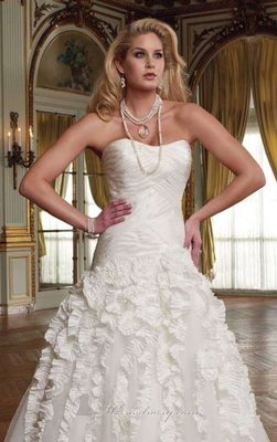 Mon Cheri David Tutera Style 211248 (liza) Wedding Dress