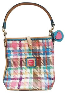 Dooney & Bourke And Tartan Plaid Summer Shoulder Bag
