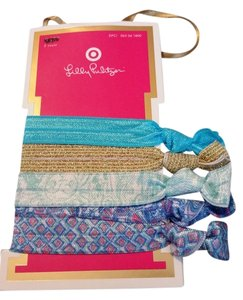 Lilly Pulitzer Lilly Pulitzer For Target Hair Elastics Blue SOLD OUT - NWT