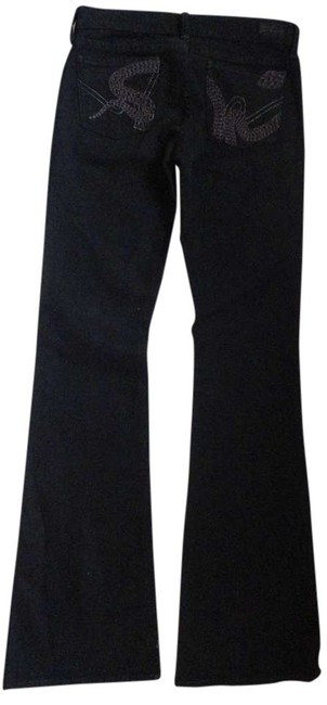 Citizens of Humanity Flare Flare Serpant Size 25 Nwt Boot Cut Jeans-Dark Rinse