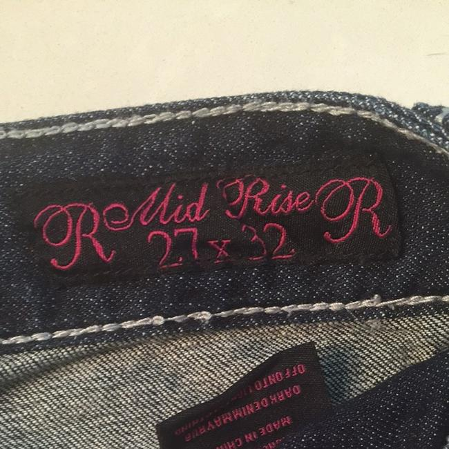 Rock and Roll Cowgirl Boot Cut Jeans-Distressed