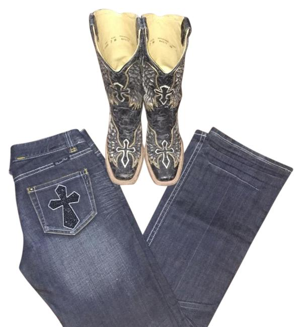 Preload https://item3.tradesy.com/images/rock-and-roll-cowgirl-dark-rinse-w0-7775-boot-cut-jeans-size-27-4-s-3993157-0-2.jpg?width=400&height=650