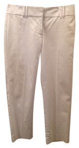 Ann Taylor Double Hook Capris White