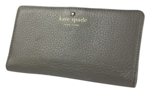 Kate Spade * Kate Spade Slim Envelope Leather Wallet - Grey