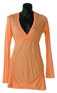 Splendid short dress orange Deep V Bright Tunic on Tradesy