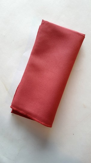 10 Dusty Rose Linen Napkins