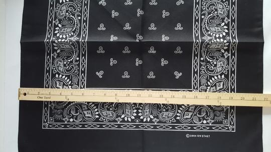 161 Black Western Handkerchiefs- Wedding Napkins