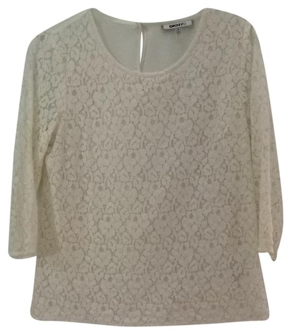 Preload https://item5.tradesy.com/images/dkny-white-blouse-size-10-m-3994579-0-0.jpg?width=400&height=650
