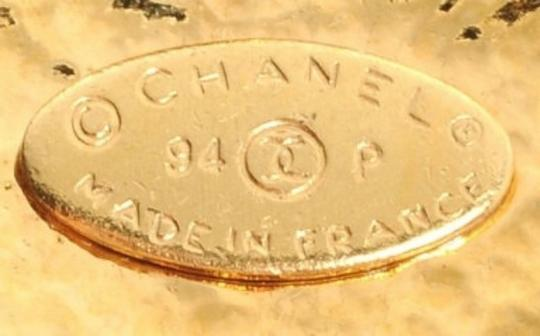 Chanel Authentic CHANEL CC Logo Pearl Gold Necklace