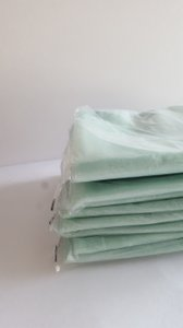 10 Mint Green Organza Table Runners