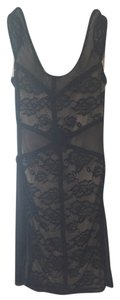 Divided by H&M Floral Mesh Sheer Lace Dress