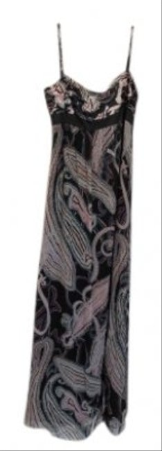Preload https://item5.tradesy.com/images/adrianna-papell-multi-color-black-color-swirls-silk-spaghetti-strap-evening-long-formal-dress-size-1-39949-0-0.jpg?width=400&height=650
