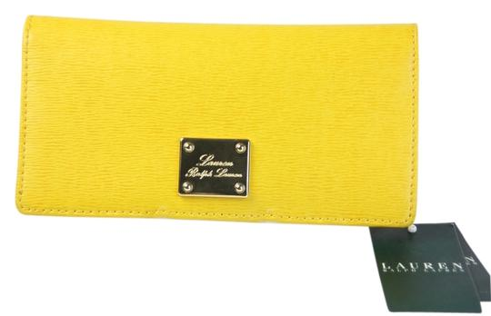 "Ralph Lauren * Ralph Lauren ""Sloan"" Slim Leather Wallet - Yellow"