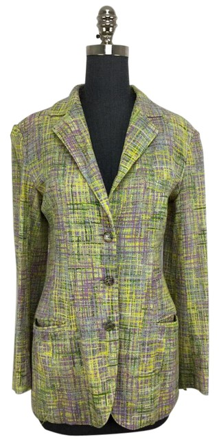 Preload https://item4.tradesy.com/images/chanel-lavender-green-and-yellow-blazer-3995083-0-2.jpg?width=400&height=650