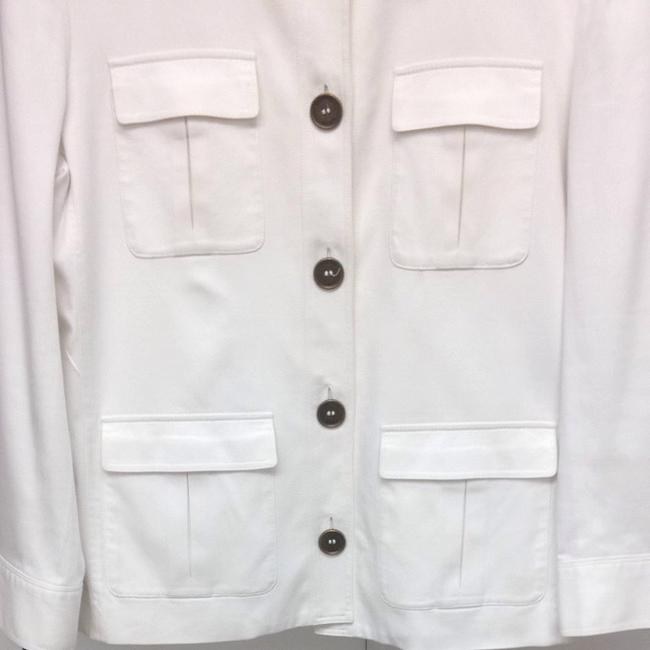 Burberry White Jacket